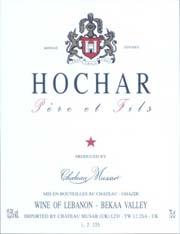 Hochar Père et Fils 2001 - Vallée de la Bekka