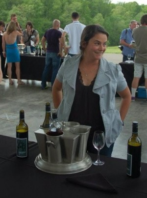 Kirsty Harmon, from Blenheim Vineyards
