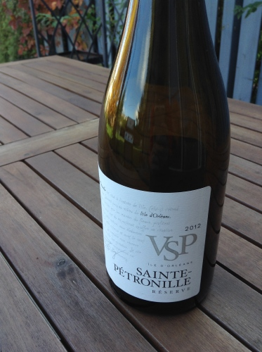 Vignoble de Sainte Pétronille Réserve 2012