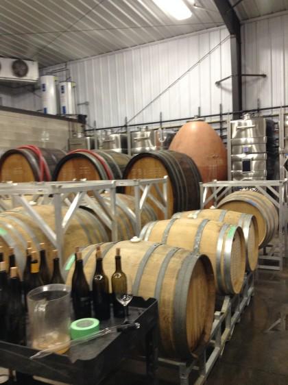 Du vin en vieillissement chez Pearl-Morrissette